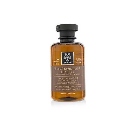 Oily Dandruff Shampoo with White Willow & Propolis (For Oily Scalp) 250ml/8.45oz