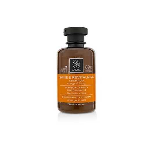 Shine & Revitalizing Shampoo with Orange & Honey  250ml/8.45oz