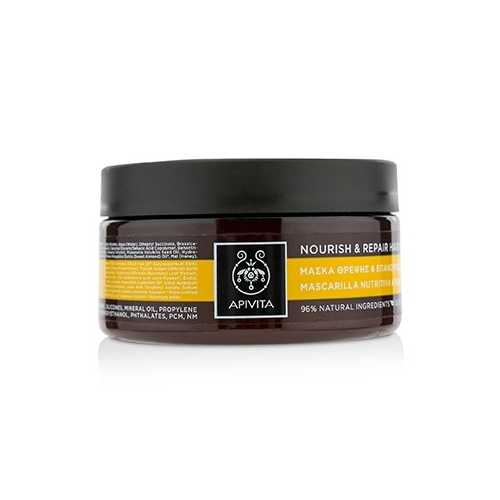 Nourish & Repair Hair Mask with Olive & Honey (For Dry-Damaged Hair) 200ml/6.81oz