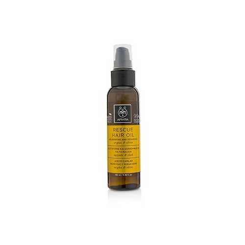 Rescue Hair Oil with Argan & Olive (For All Hair Types)  100ml/3.38oz