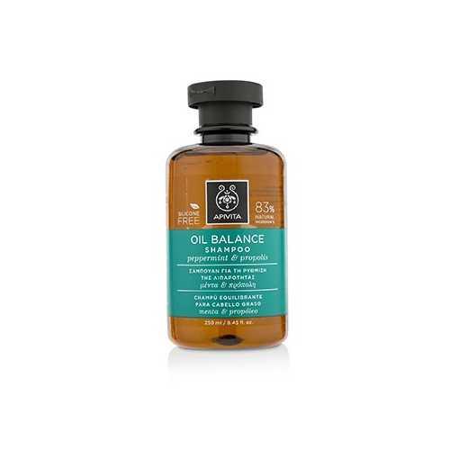 Oil Balance Shampoo with Peppermint & Propolis (For Oily Hair) 250ml/8.45oz