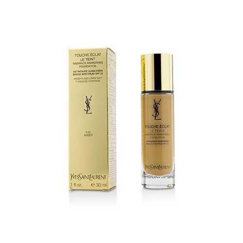 Touche Eclat Le Teint Radiance Awakening Foundation SPF22 - #B60 Amber 30ml/1oz