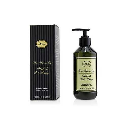 Pre-Shave Oil - Unscented (With Pump)  240ml/8.1oz