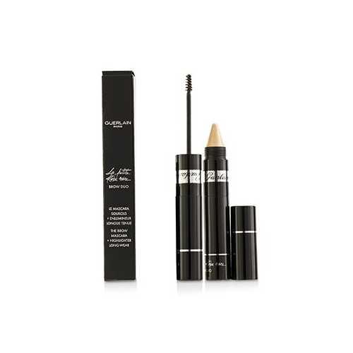 La Petite Robe Noire Brow Duo (Brow Mascara 4ml/0.13oz + Highlighter 1.5g/0.05oz) - # 20 Deep  -