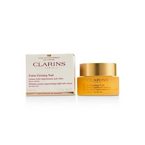 Extra-Firming Nuit Wrinkle Control, Regenerating Night Rich Cream - For Dry Skin  50ml/1.6oz