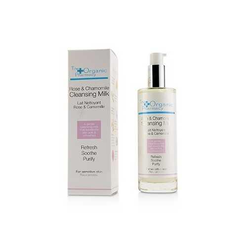 Rose & Chamomile Cleansing Milk - For Sensitive Skin 100ml/3.3oz