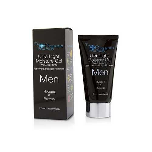 Men Ultra Light Moisture Gel - Hydrate & Refresh - For Normal & Oily Skin  75ml/2.5oz