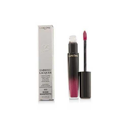 L'Absolu Lacquer Buildable Shine & Color Longwear Lip Color - # 323 Shine Manifesto  8ml/0.27oz