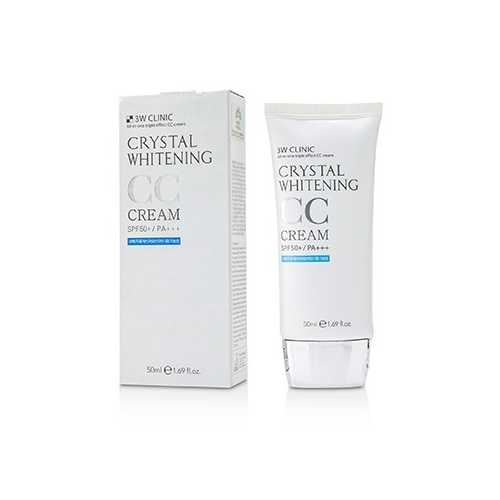 Crystal Whitening CC Cream SPF 50+/PA+++ - #01 Glitter Beige  50ml/1.69oz