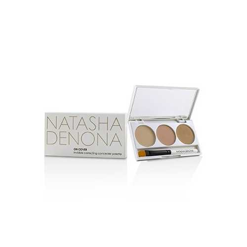 On Cover Invisible Correcting Concealer Palette - # 01 Light - Medium  3x2ml/2.03g