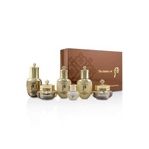 Cheongidan Radiant Special Gift Set: Balancer + Emulsion + Cream + Eye Cream + Essence + Ginseng Facial Oil 6pcs