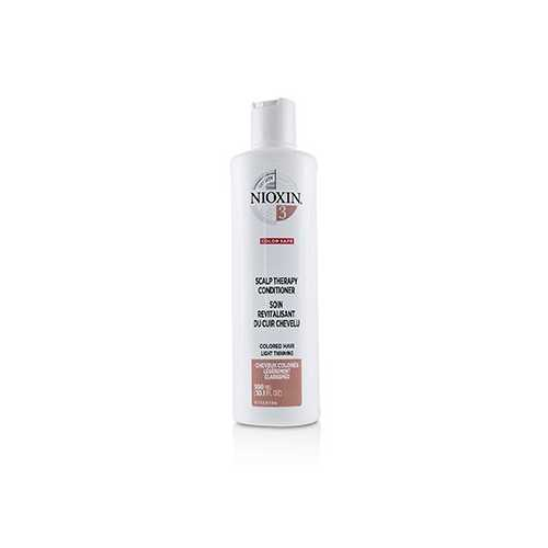 Density System 3 Scalp Therapy Conditioner (Colored Hair, Light Thinning, Color Safe)  300ml/10.1oz
