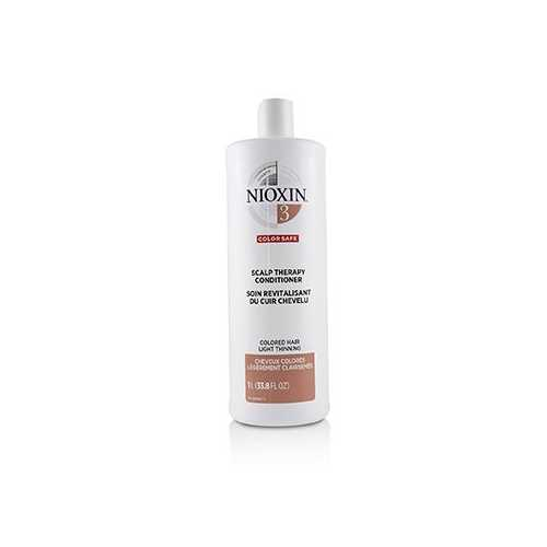 Density System 3 Scalp Therapy Conditioner (Colored Hair, Light Thinning, Color Safe)  1000ml/33.8oz