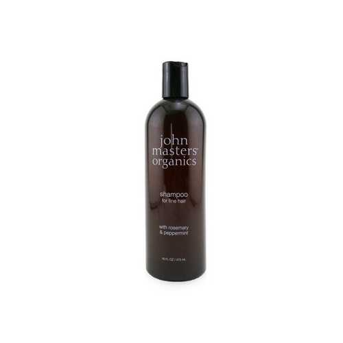 Shampoo For Fine Hair with Rosemary & Peppermint  473ml/16oz