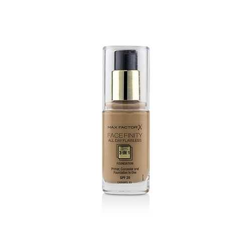 Face Finity All Day Flawless 3 in 1 Foundation SPF20 - #85 Caramel  30ml/1oz