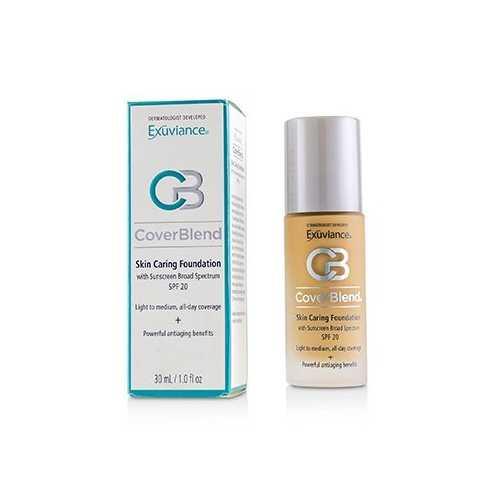 CoverBlend Skin Caring Foundation SPF20 - # Golden Beige  30ml/1oz