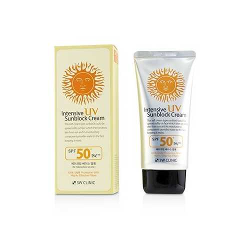 Intensive UV Sunblock Cream SPF 50+ PA+++  70ml/2.3oz