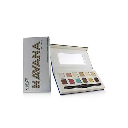 Havana Nights Eye Shadow Palette (12x Eyeshadow, 1x Dual End Brush)  12x0.8g/0.03oz