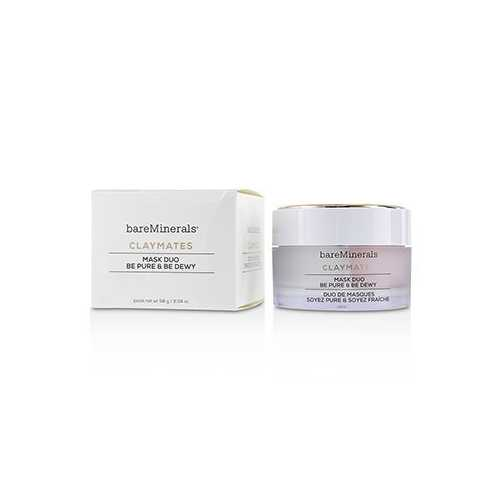 Claymates Be Pure & Be Dewy Mask Duo 58g/2.04oz
