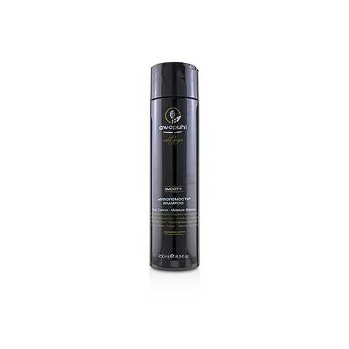 Awapuhi Wild Ginger Smooth Mirrorsmooth Shampoo (Frizz Control - Moisture Balance)  250ml/8.5oz