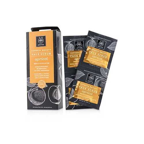 Express Beauty Face Scrub with Apricot (Gentle Exfoliation)  6x(2x8ml)