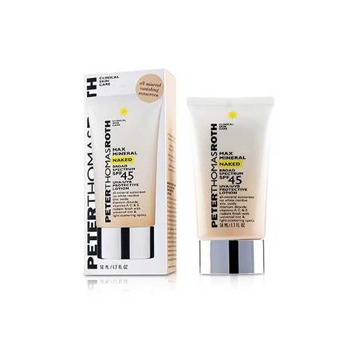 Max Mineral Naked SPF 45 Lotion  50ml/1.7oz
