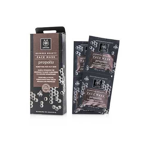 Express Beauty Face Mask with Propolis (Purifying For Oily Skin)  6x(2x8ml)