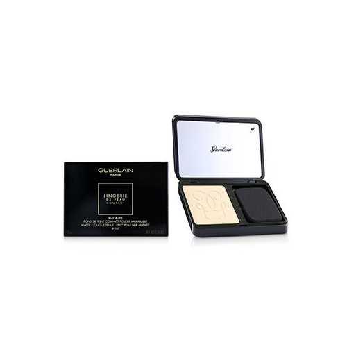 Lingerie De Peau Mat Alive Buildable Compact Powder Foundation SPF 15 - # 01N Very Light  8.5g/0.29oz