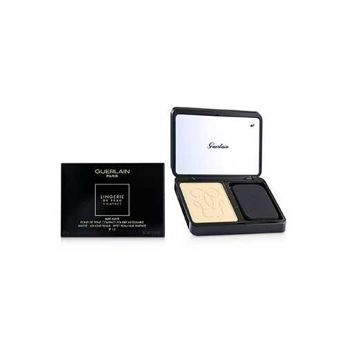 Lingerie De Peau Mat Alive Buildable Compact Powder Foundation SPF 15 - # 03N Natural  8.5g/0.29oz