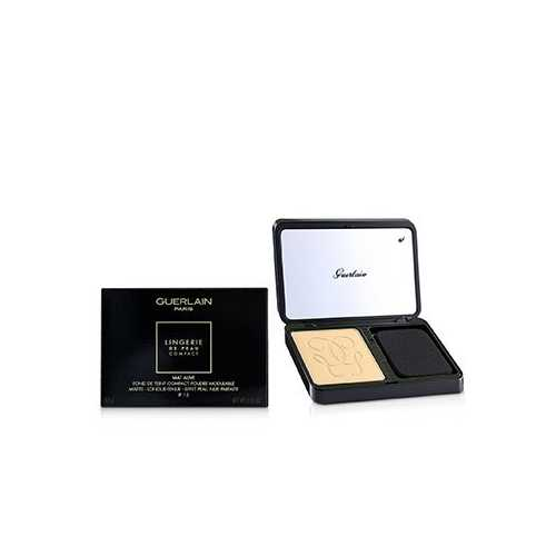 Lingerie De Peau Mat Alive Buildable Compact Powder Foundation SPF 15 - # 04N Medium  8.5g/0.29oz
