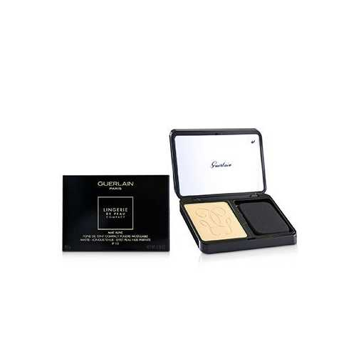 Lingerie De Peau Mat Alive Buildable Compact Powder Foundation SPF 15 - # 03W Natural Warm  8.5g/0.29oz