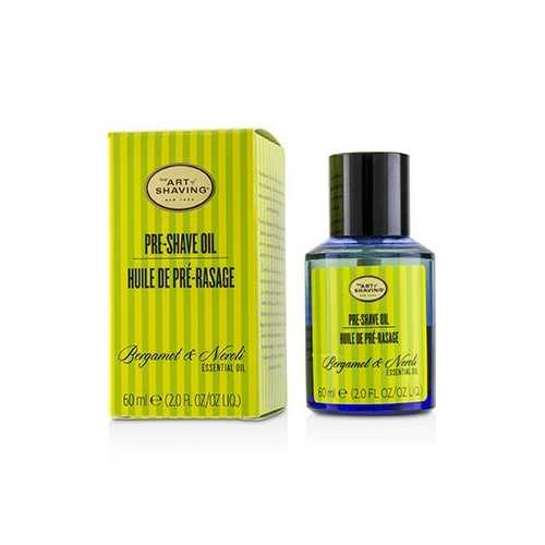 Pre Shave Oil - Bergamot & Neroli Essential Oil (With Pump)  60ml/2oz