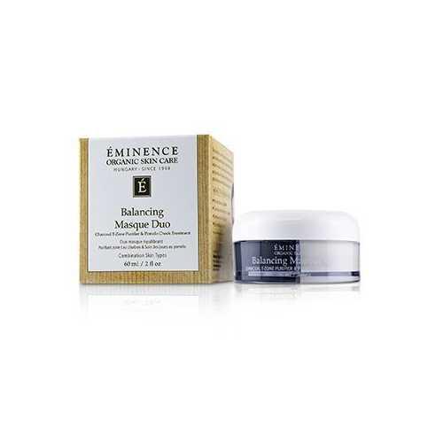 Balancing Masque Duo: Charcoal T-Zone Purifier & Pomelo Cheek Treatment - For Combination Skin Types 60ml/2oz