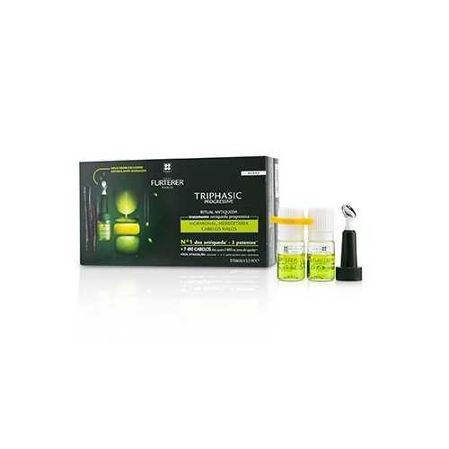 Triphasic Progressive Anti-Hair Loss Ritual Anti-Hair Loss Treatment (Progressive Hair Loss)  8x5.5ml/0.18oz