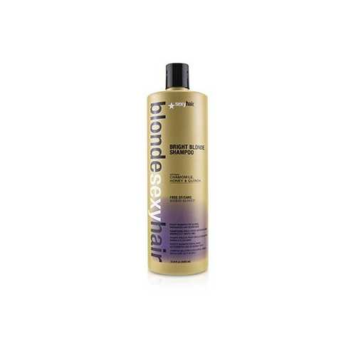 Blonde Sexy Hair Bright Blonde Violet Shampoo (For Blonde, Highlighted and Silver Hair)  1000ml/33.8oz