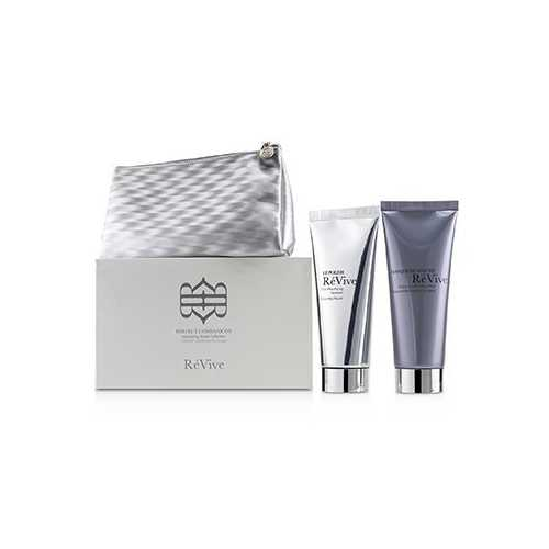 Perfect Companions Volumizing Travel Collection: Sculpting and Firming Mask 75g + Micro-Resurfacing Treatment 75g  2pcs+1bag