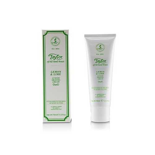 Lemon And Lime Luxury Shaving Cream  75ml/2.5oz