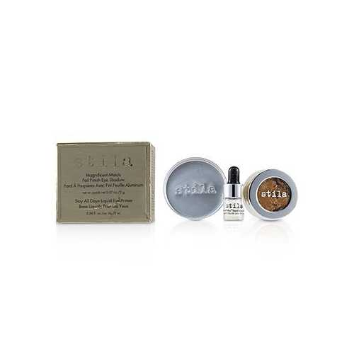 Magnificent Metals Foil Finish Eye Shadow With Mini Stay All Day Liquid Eye Primer - Comex Copper (Box Damaged)  2pcs