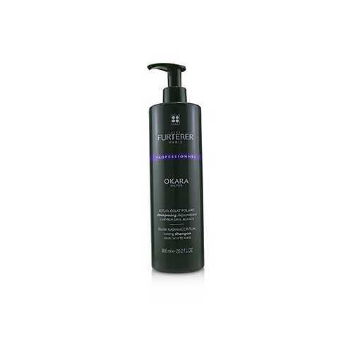 Okara Silver Silver Radiance Ritual Toning Shampoo - Gray, White Hair (Salon Product)  600ml/20.2oz