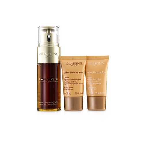 Double Serum Extra-Edition Set: Double Serum 50ml + Extra-Firming Day Cream 15ml + Extra-Firming Night Cream 15ml  3pcs