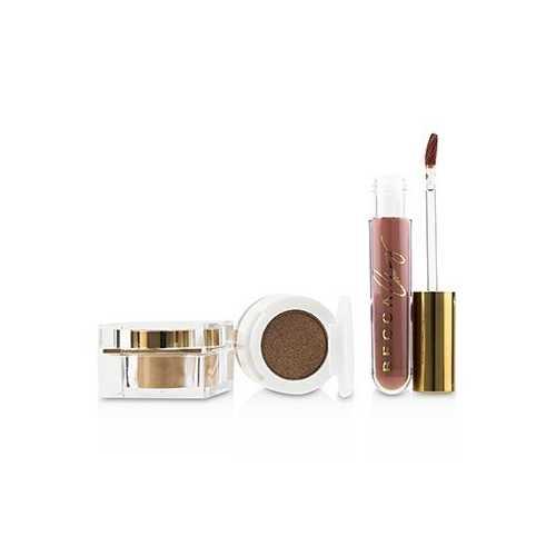 BECCA x Chrissy Cravings Glow Kitchen Kit (1x Eyeshadow, 1x Liquid Lipstick, 1x Highlighter)  3pcs