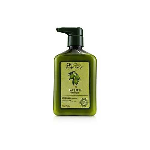 Olive Organics Hair & Body Conditioner (For Hair and Skin)  340ml/11.5oz