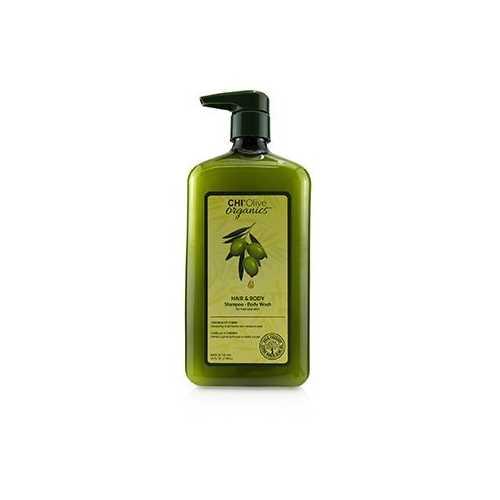 Olive Organics Hair & Body Shampoo Body Wash (For Hair and Skin)  710ml/24oz