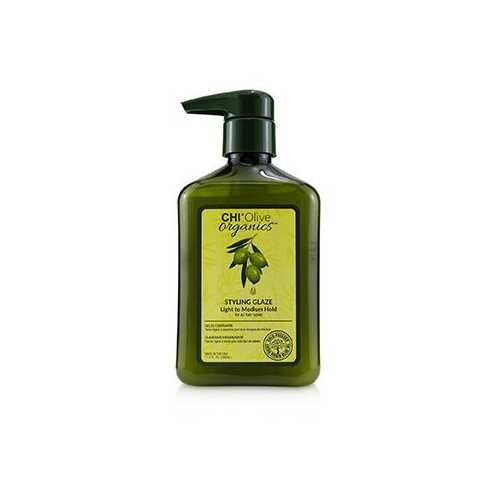 Olive Organics Styling Glaze (Light to Medium Hold - For All Hair Types)  340ml/11.5oz
