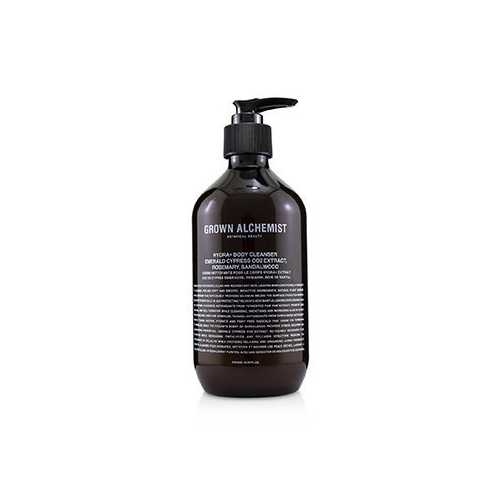 Hydra+ Body Cleanser - Emerald Cypress Co2 Extract, Rosemary & Sandalwood  500ml/16.9oz