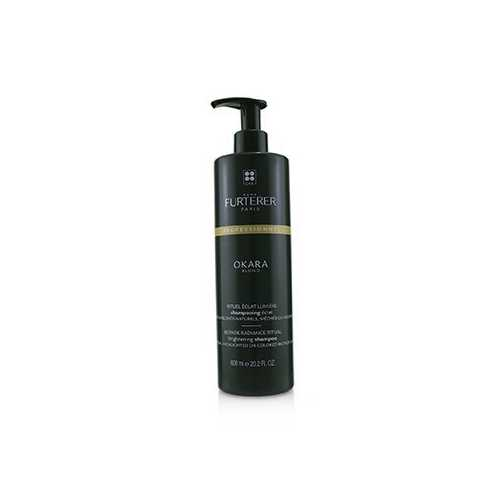 Okara Blond Blonde Radiance Ritual Brightening Shampoo - Natural, Highlighted or Colored Blonde Hair (Salon Product)  600ml/20.2oz