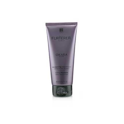Okara Silver Silver Radiance Ritual Toning Shampoo (Gray, White Hair)  200ml/6.7oz