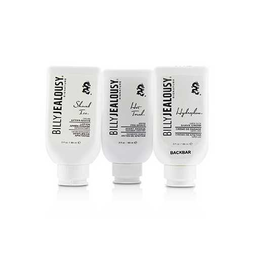 Signature Shave3Some Kit : 1x Pre-Shave 88ml + 1x Shave Cream 88ml + After-Shave 88ml  3pcs