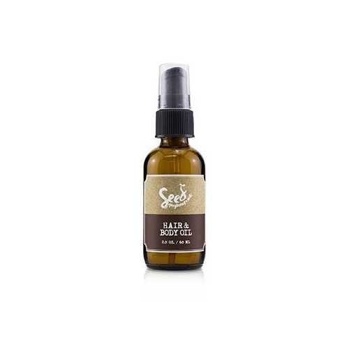 Hair & Body Oil (For Especially Dry Hair and Skin)  60ml/2oz