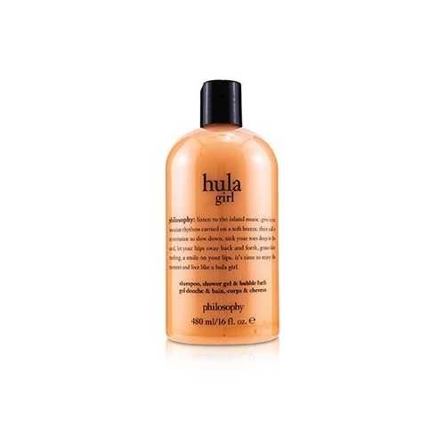 Hula Girl Shampoo, Shower Gel & Bubble Bath  480ml/16oz